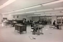 Servidores na decada de 1970 na nova sed