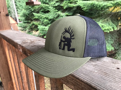 Kneeling Hunter Adjustable Hat