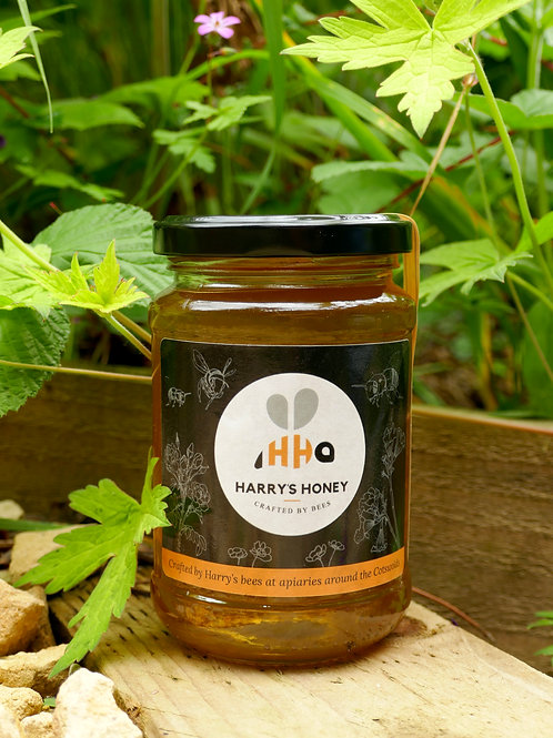 Harry's Spring Honey - a jar of honey