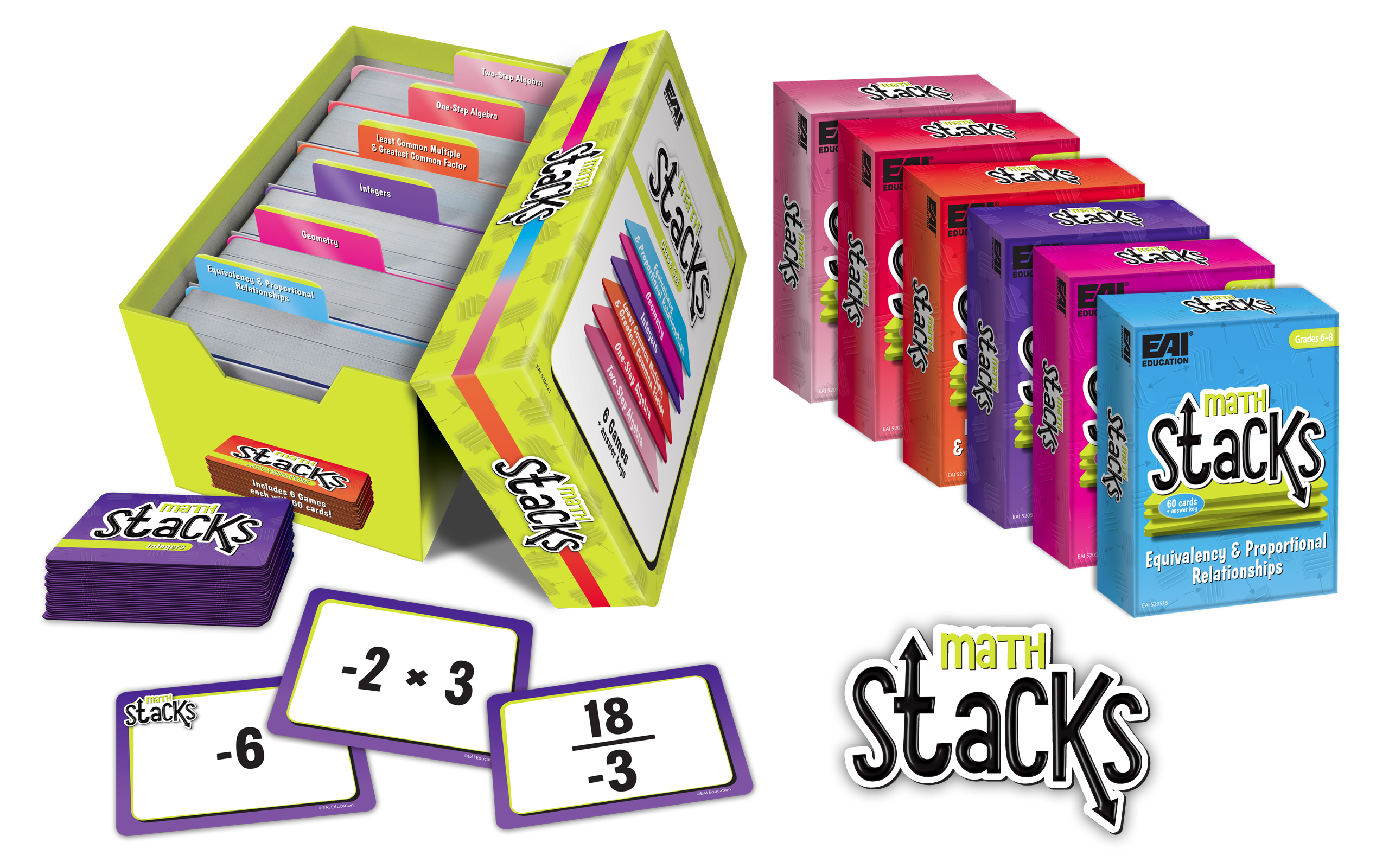 Math Stacks - Box Set/Single Decks