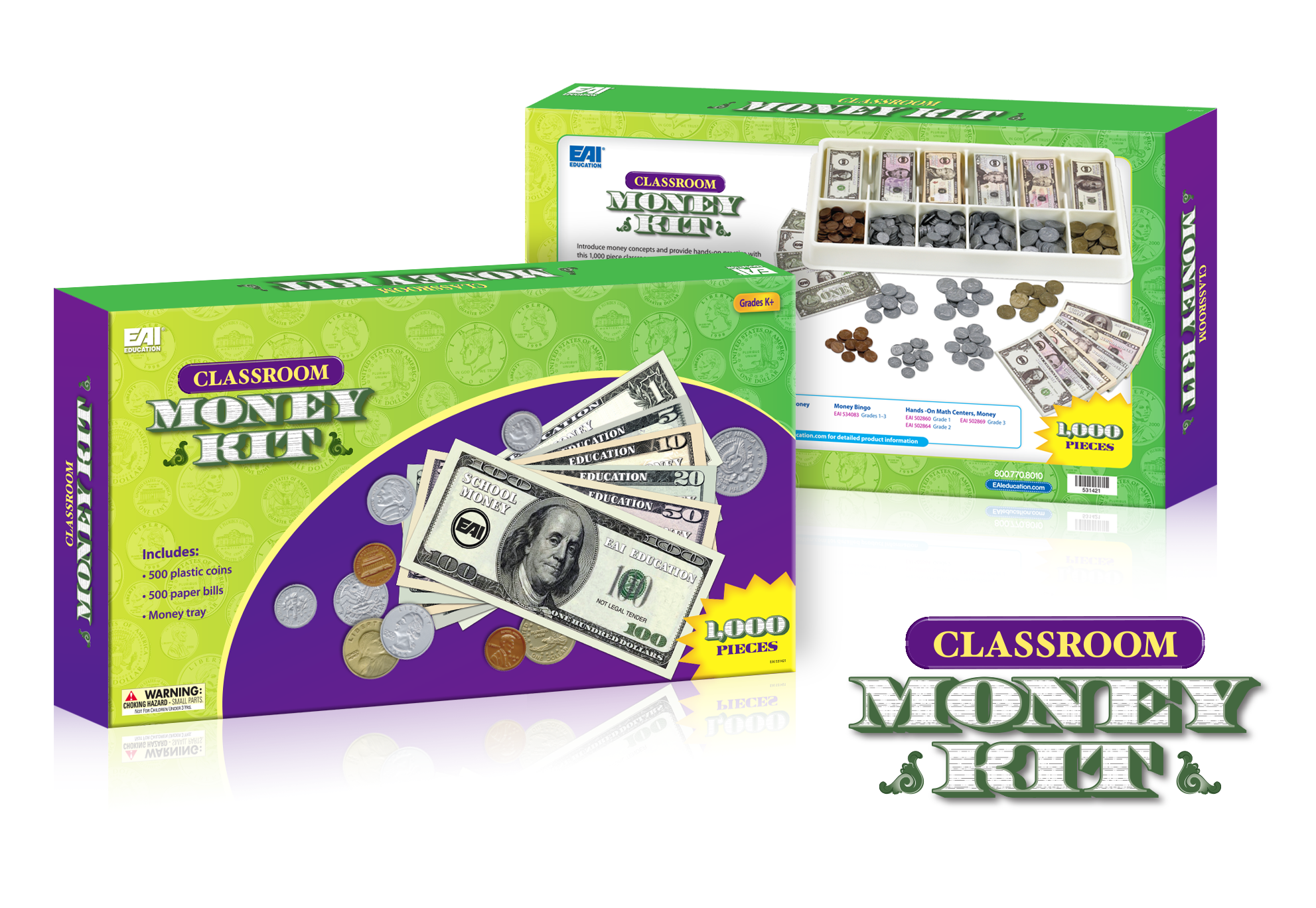 Money Kit Logo & Box Design