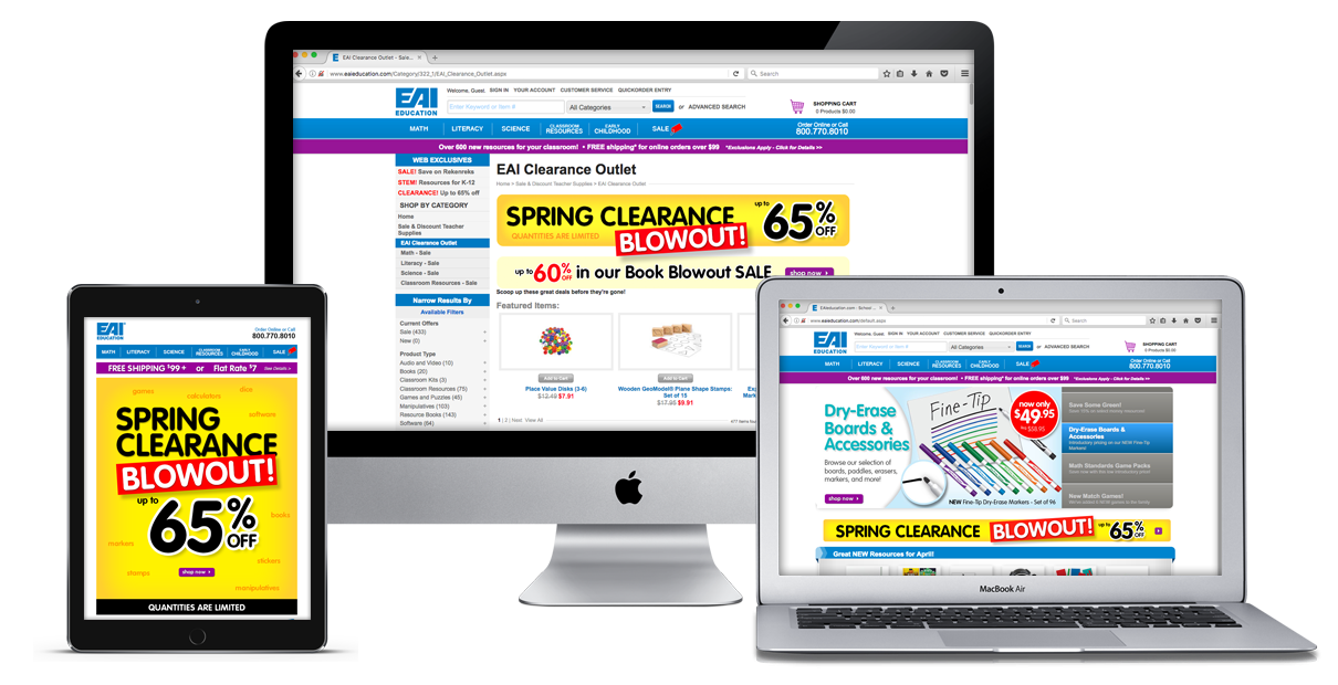 Spring Clearance Blowout Campaign