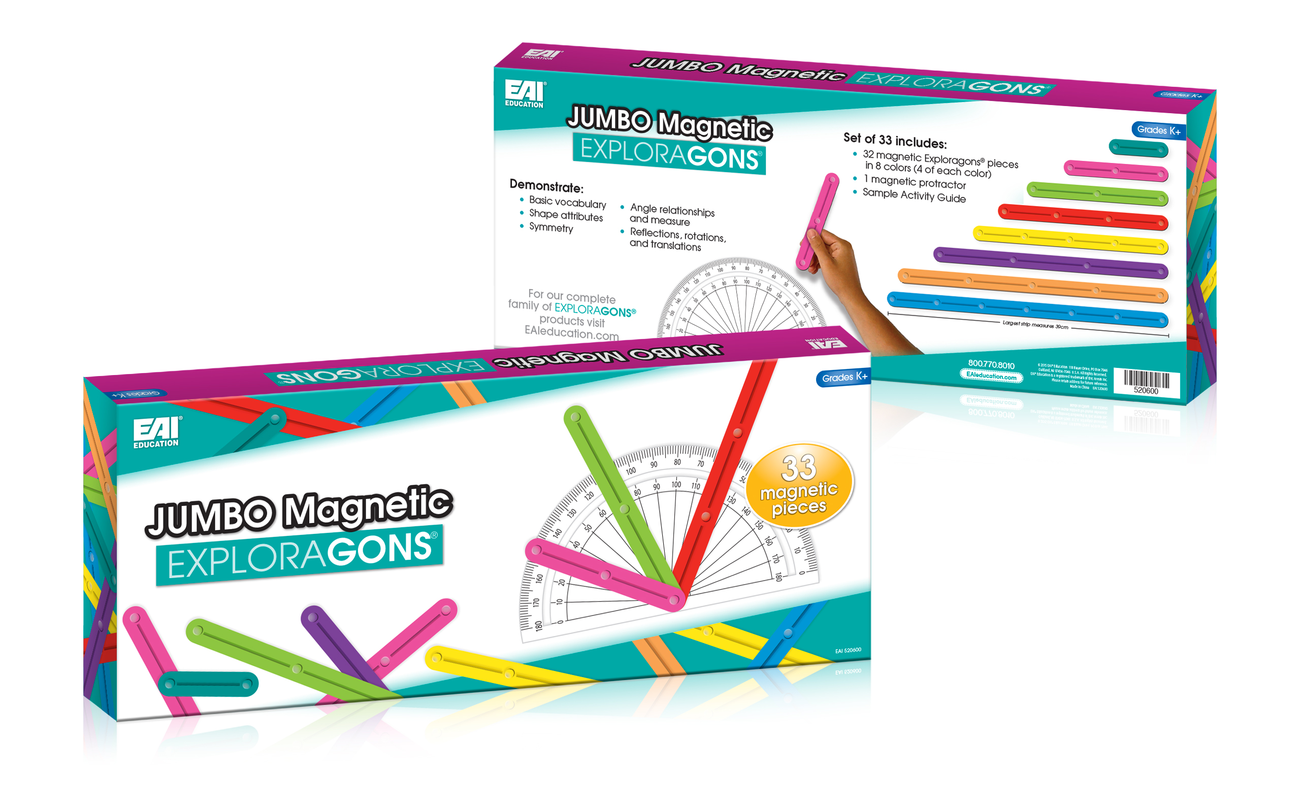 Jumbo Magnetic Exploragons Box