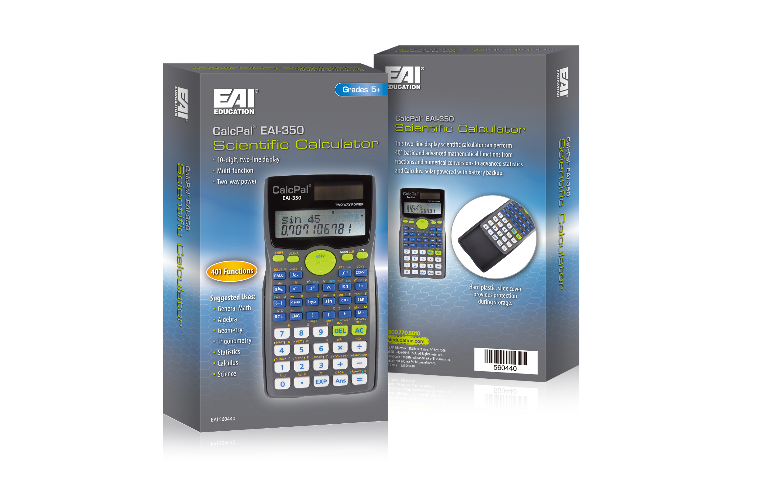 Calculator Package Design