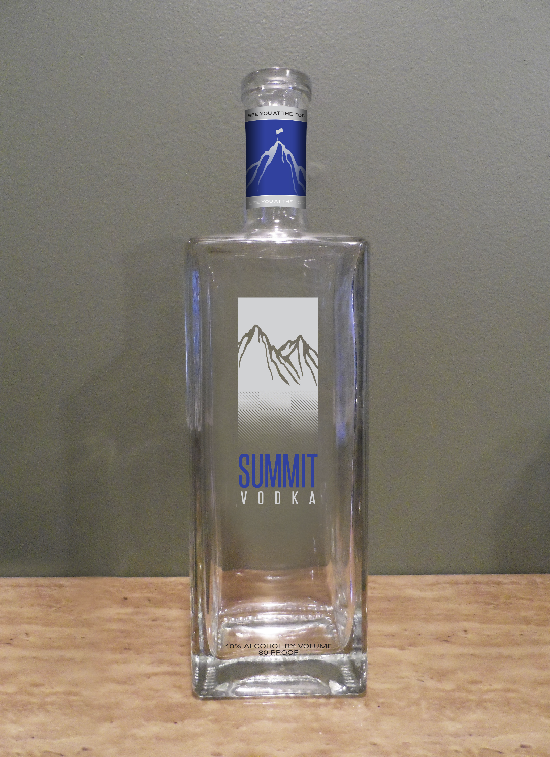 Summit Vodka - Concept Design