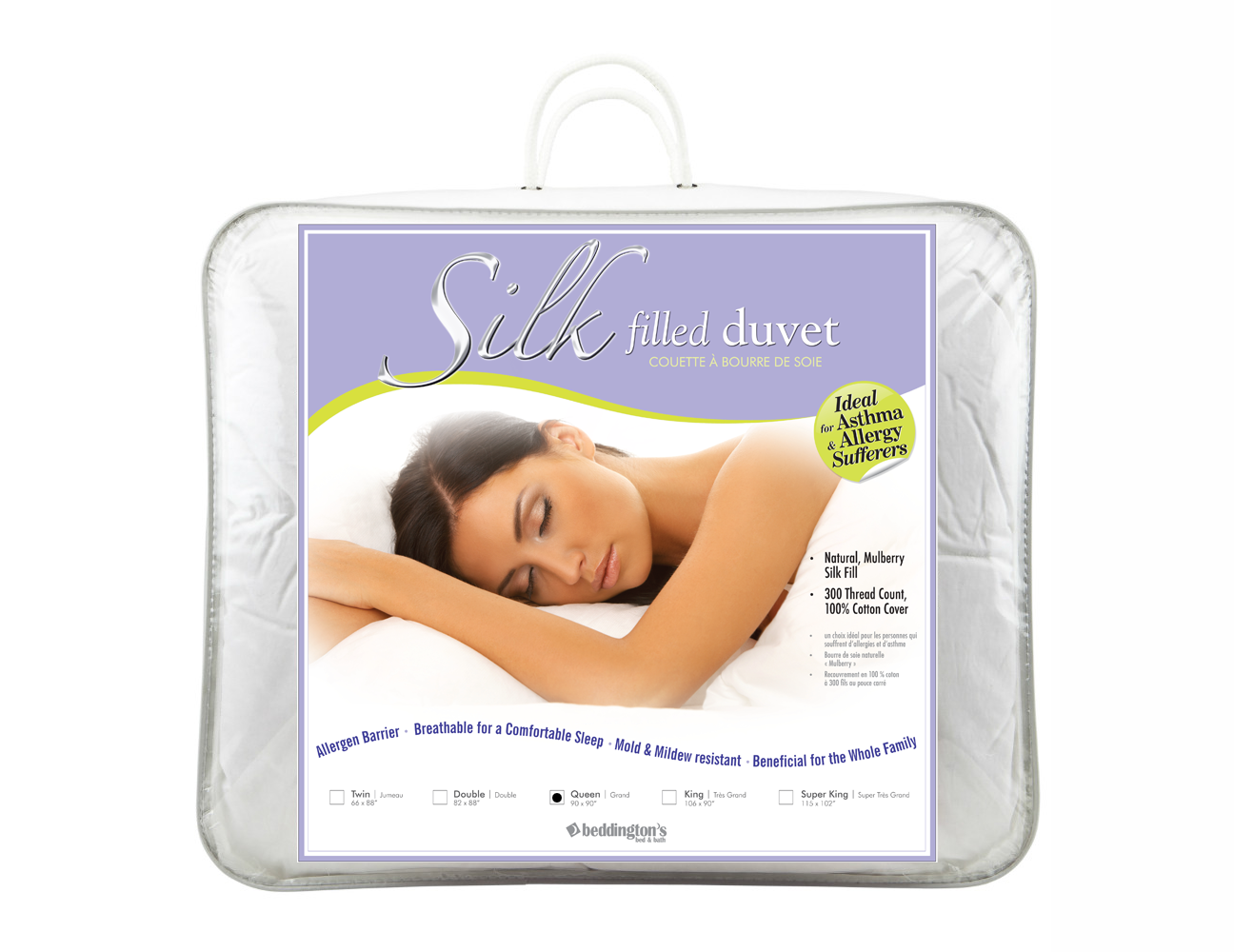 Silk Filled Duvet Insert