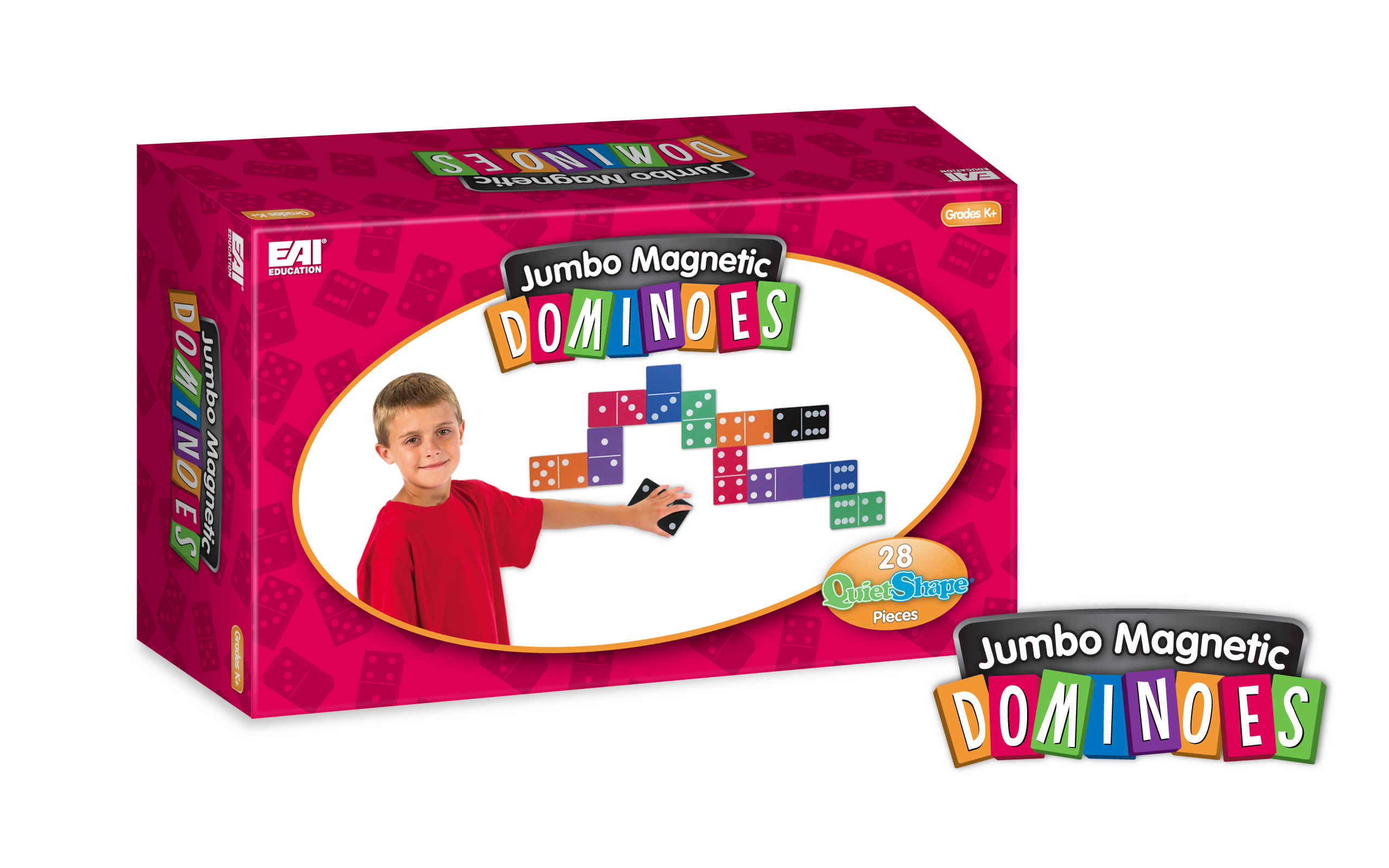 Foam Dominoes Logo & Box Design