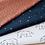 Thumbnail: Tapis de sol Pluie d'étoiles // Coton Biologique