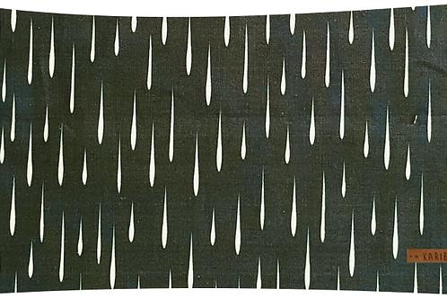 Coussin Ondée Sapin // Coton Biologique