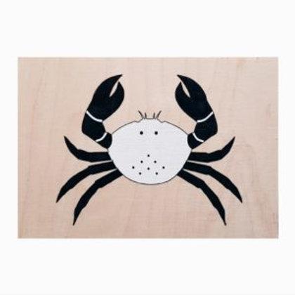 Carte Bois Crabe