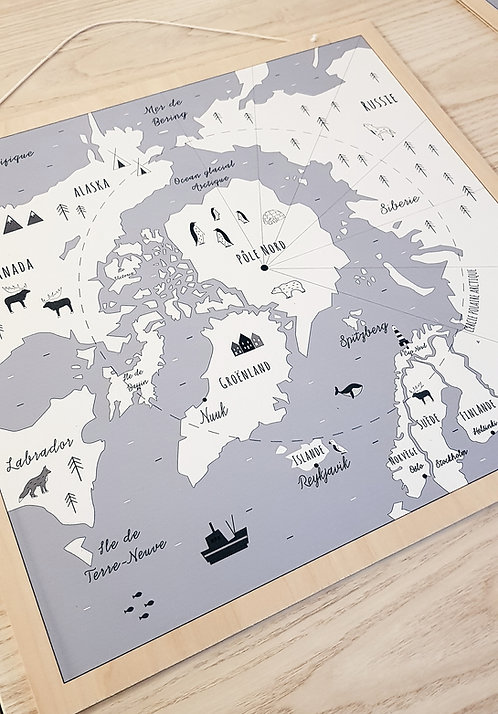 Atlas Pôle Nord