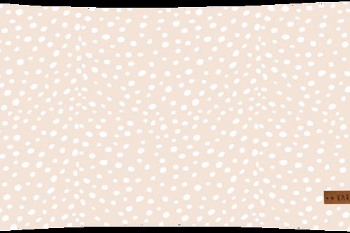 Coussin Blizzard Nude // Coton Biologique