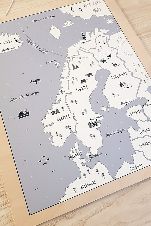 Atlas Scandinavie