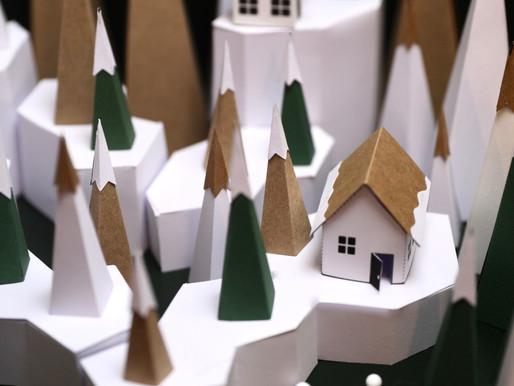 Village de Noël // Les maisons