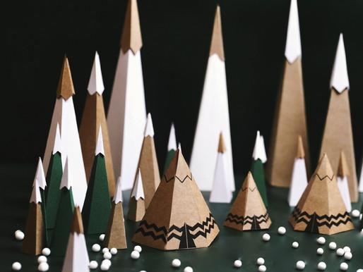 Village de Noël // Les Tipis