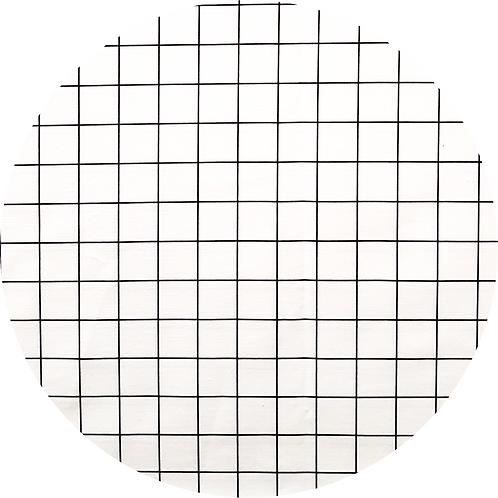 Tapis de sol Oskar Blanc // Coton Biologique