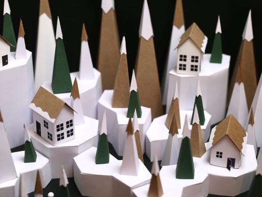 Village de Noël // Les Montagnes