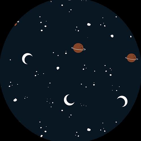 Tapis de sol Univers // Coton Biologique