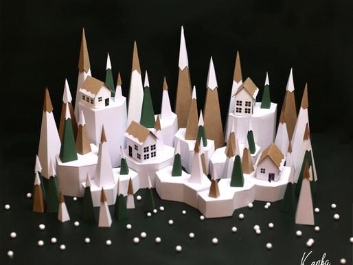 Village de Noël // Le Renne