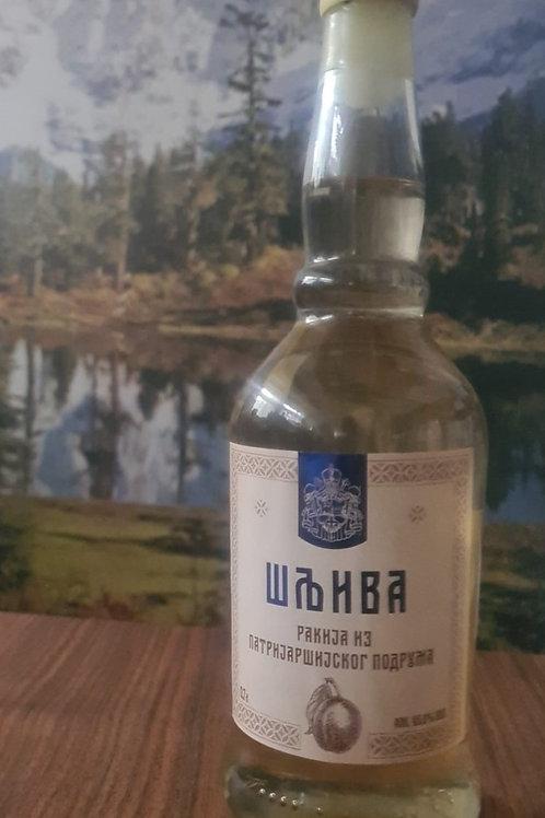 Pflaumenschnaps Premium - Patrijarsijska (Serbien) 0.7l.  45 Vol.