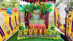 Jungle Theme Mini Home Setup at Venkatagiri