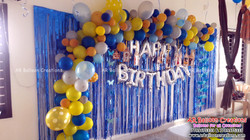 Organic Theme Balloon Decoration