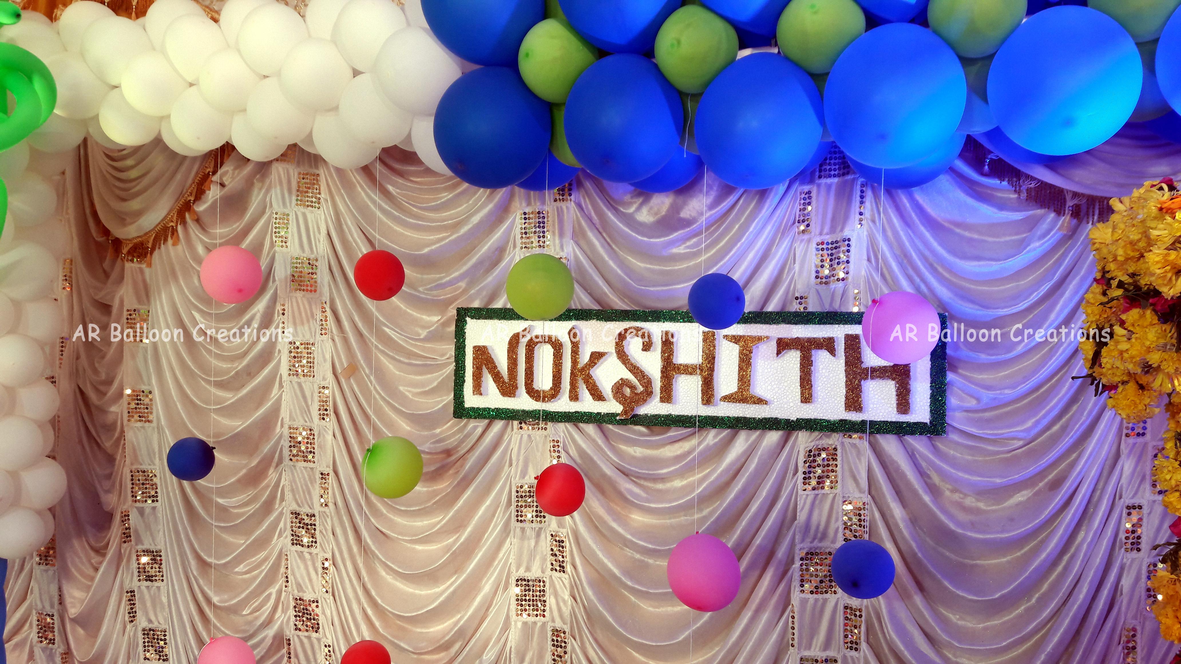 Nokshith Cradle Ceremony