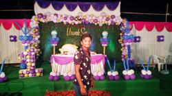 Green Leaves BG Theme    VISWAK SEN    First Birthday Celebrations    Kisan Nagar, Nellore