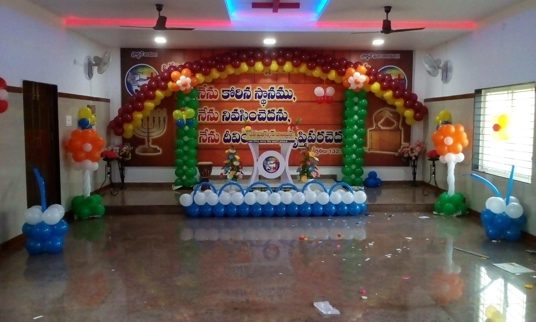 Naveena Joseph Wedding Decoration