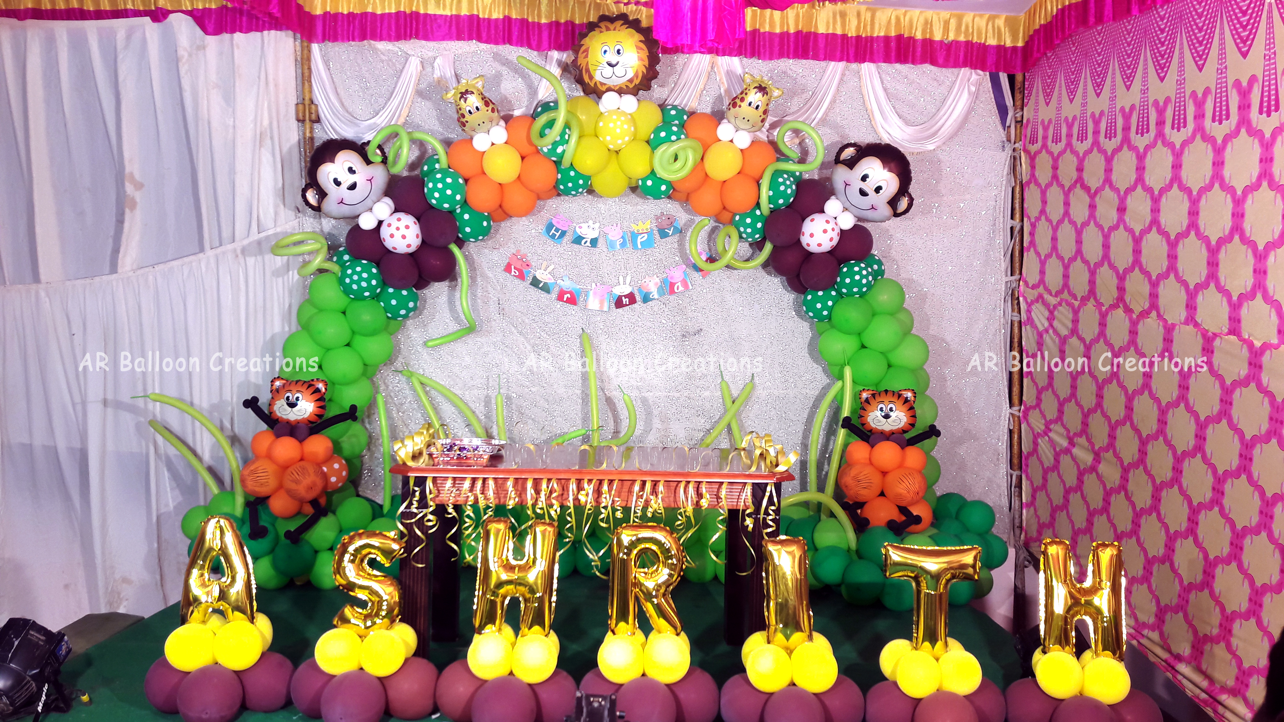 ASHRITH 1st Birthday