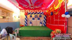 First Birthday Balloon Decoration