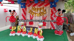 Mickey Mouse Theme First Birthday at Aruru, Chittamuru