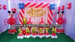 Mickey Mouse Theme First Birthday Party at Kota, Vakadu