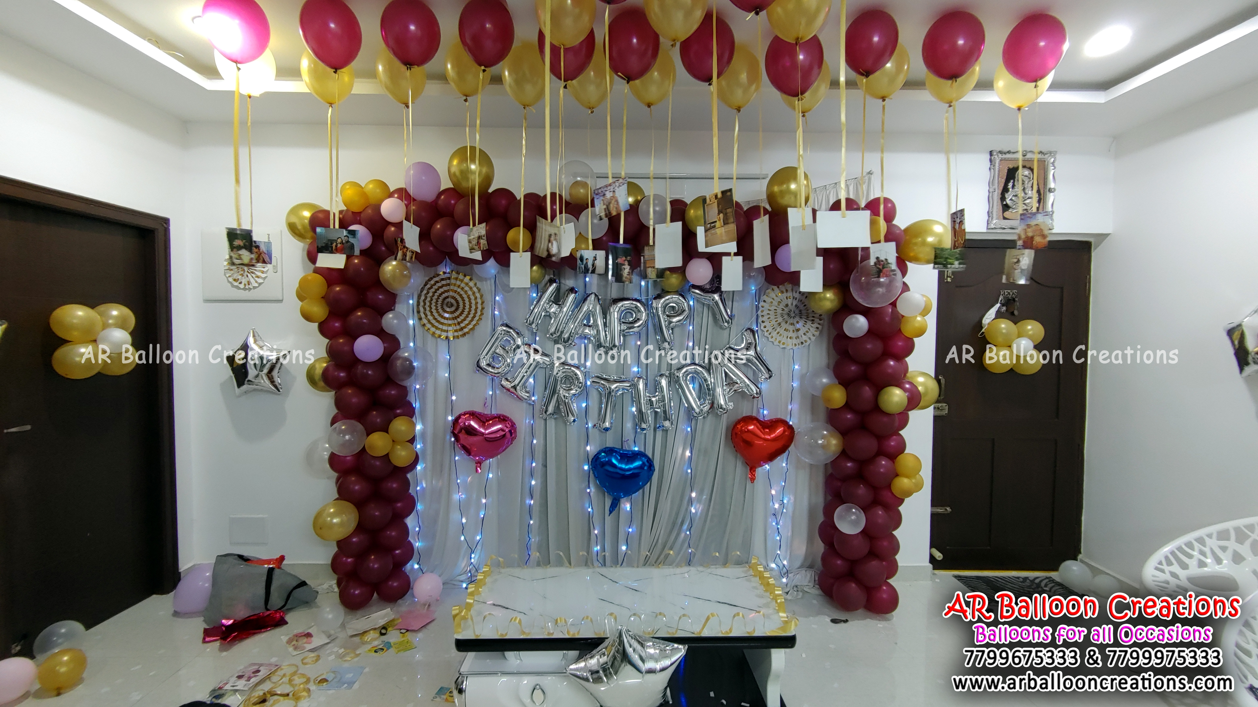 Surprise Birthday Party I Organic Theme