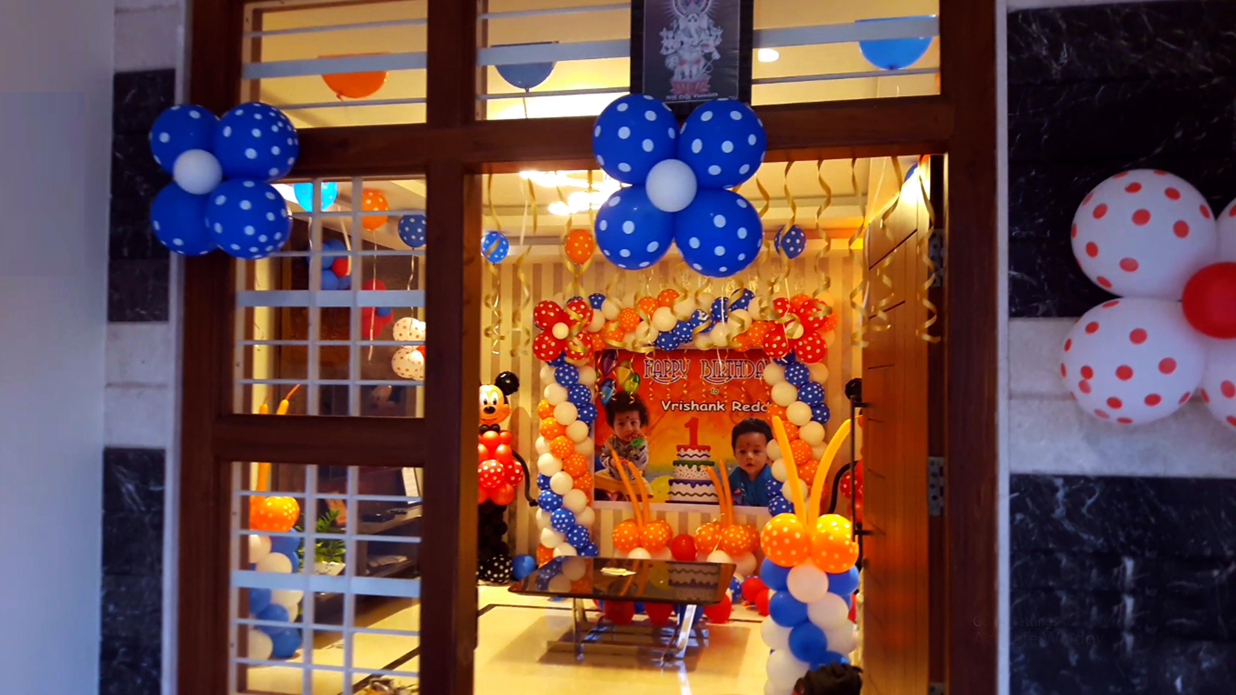Vrishank Reddy 1st Birthday Party