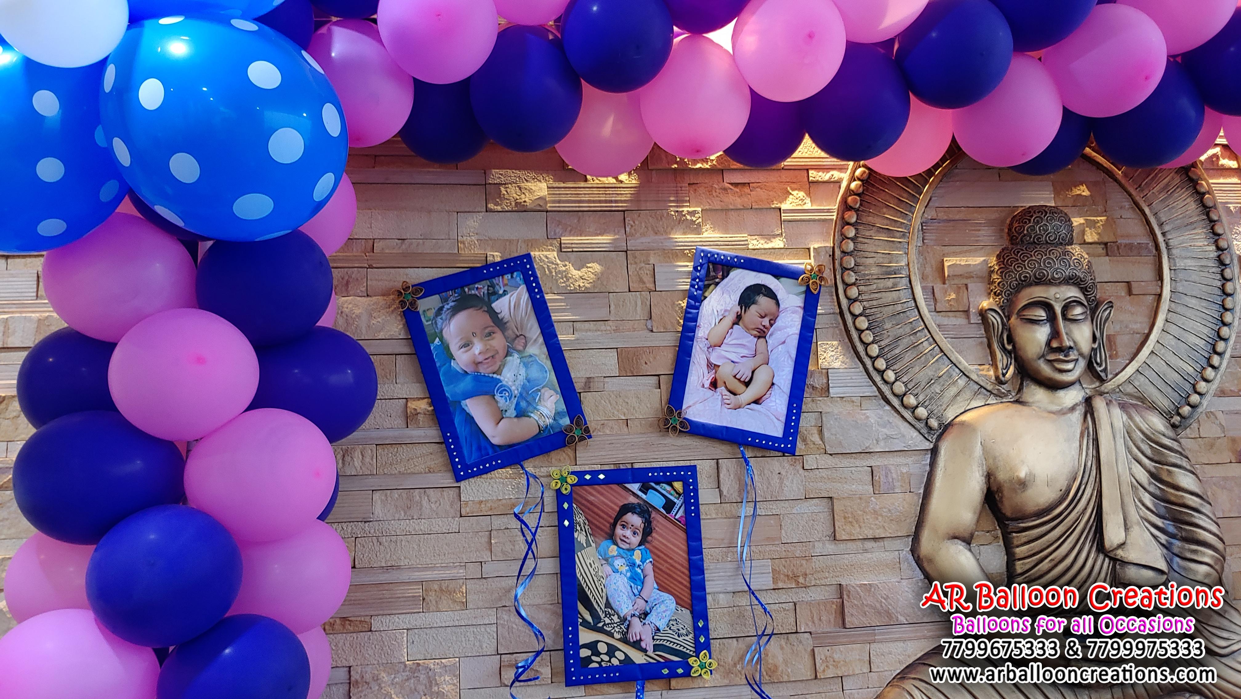 Photo Frame Theme Balloon Decoration