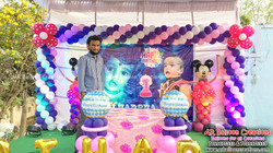 First Birthday Celebrations | Sri Harsha | Mickey Theme | Balloon Decoration at Sarvepalli, Nellore