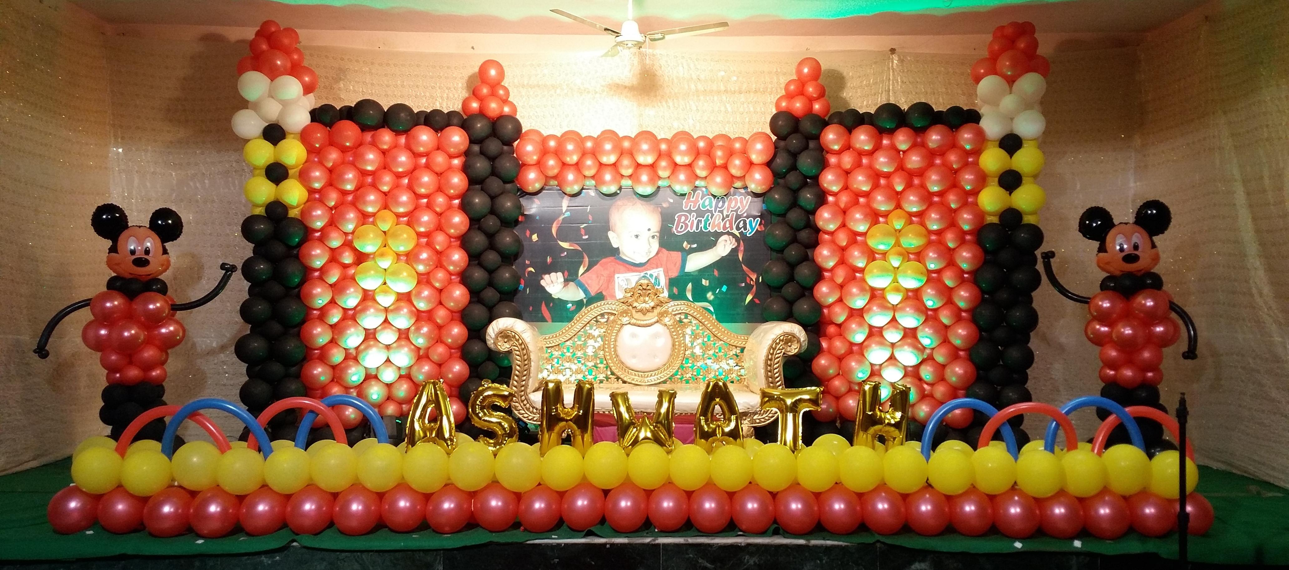 Ashwath 1st Birthday Celebration