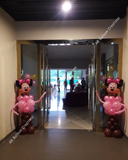 A5 Hotel Entry Decoration