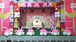 First Birthday Balloon Decoration@Shadim
