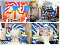 Various Birthday Decorations