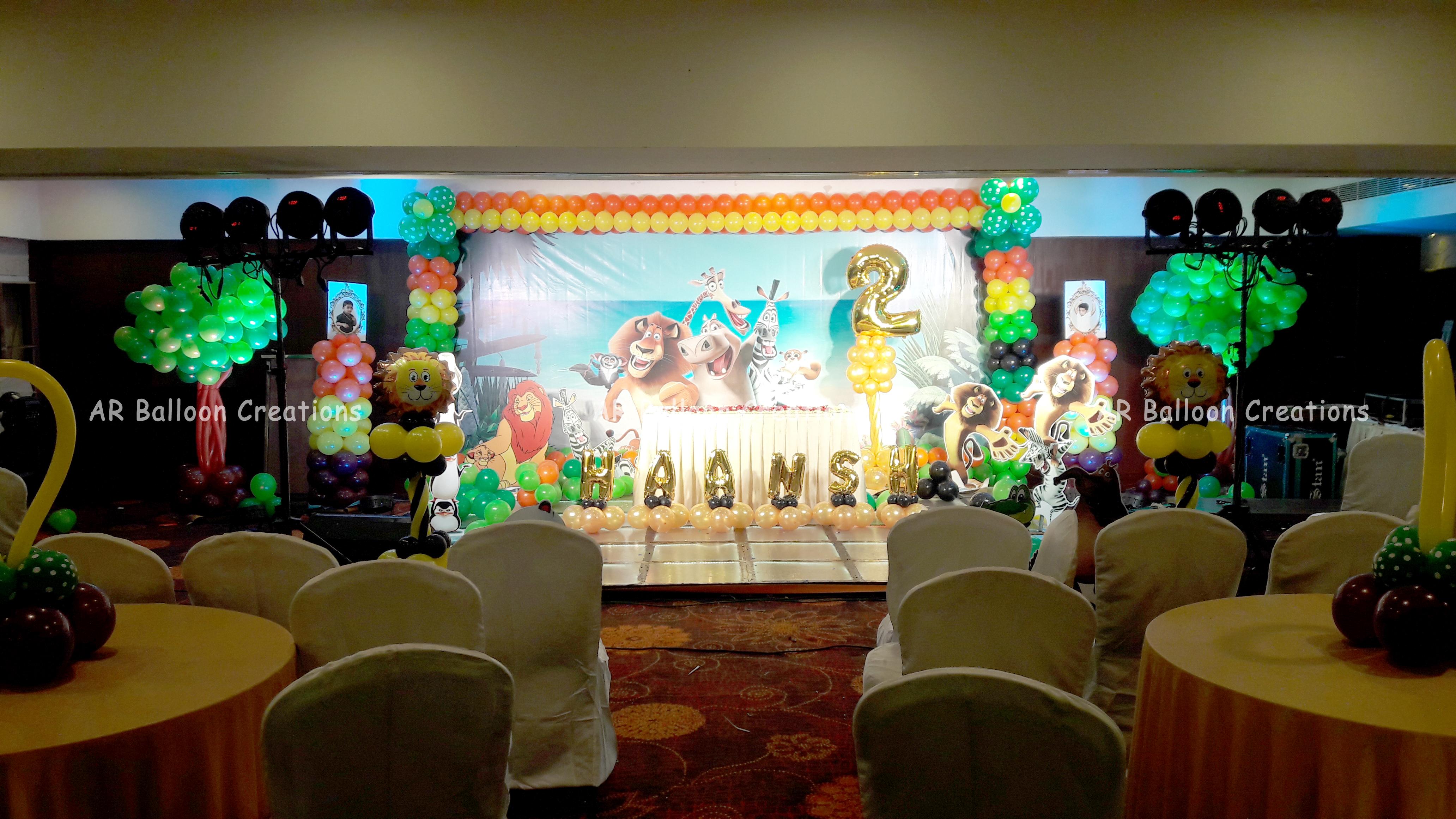 HAANSH 2nd Birthday Party