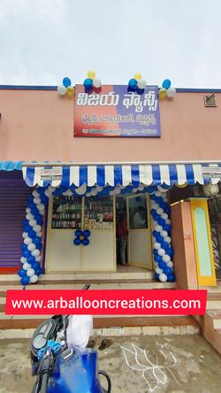 Shop Opening Balloon Decoration