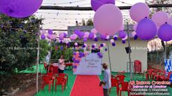 Wedding Anniversary Pom Poms Theme Decoration | Sree & Manju's | Nennuru, Gudur