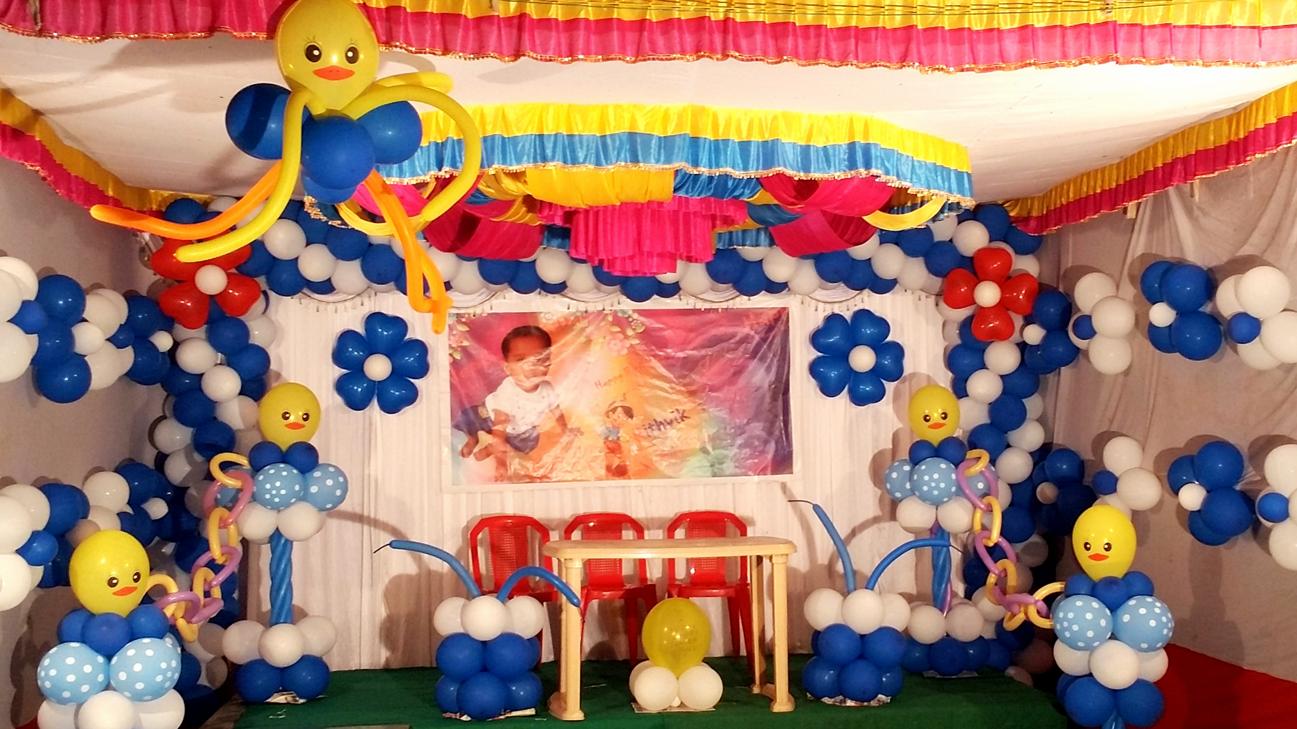 Birthday Stage