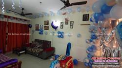 Organic Theme First Birthday Celebrations | MOURYA DEV | Balloon Decoration at Gudur, Nellore