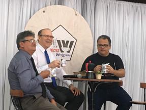 NA IMW DE CASA DE PEDRA EM 23/11/ 2019 PARTICIPANDO DO CAFÉ COM PROSA