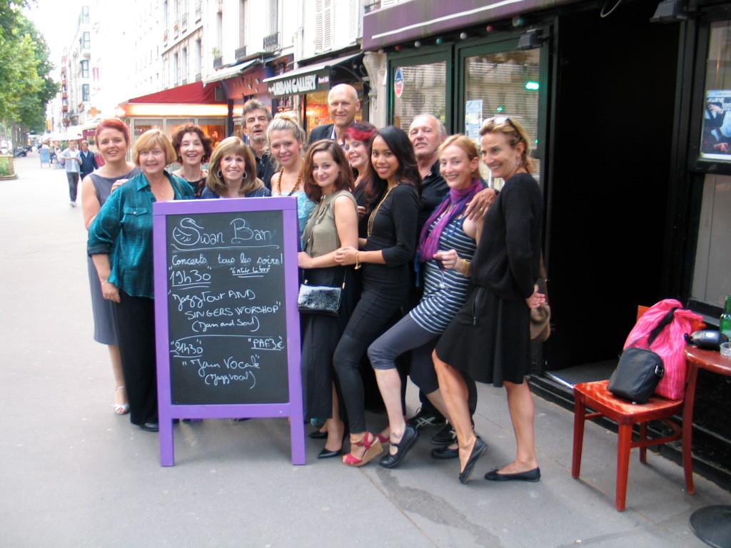 Int'l Singers' Jazz Workshop - Paris, France