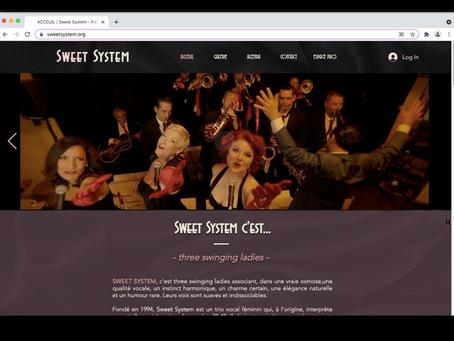 Le nouveau site — c'est Sweet!