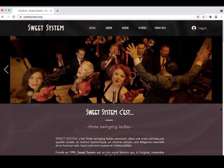 Sweet System has sweet new website!